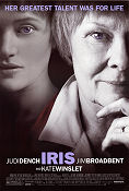 Iris 2001 Movie poster Judi Dench