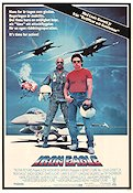 Iron Eagle 1986 Movie poster Louis Gossett Sidney Furie
