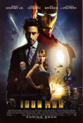 Iron Man 2008 poster Robert Downey Jr Jon Favreau