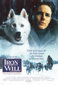 Iron Will 1994 Movie poster Kevin Spacey