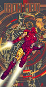 Limited litho IRON MAN No 63 of 120 2012 poster