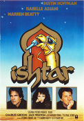 Ishtar 1987 Movie poster Dustin Hoffman