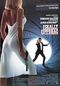 The Living Daylights 1987 Movie poster Timothy Dalton John Glen