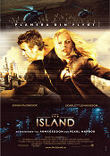 The Island 2005 poster Scarlett Johansson Michael Bay