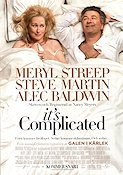 It's Complicated 2009 Movie poster Meryl Streep