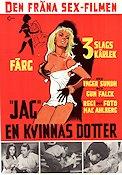 3 slags kaerlighed 1969 Movie poster Inger Sundh Mac Ahlberg