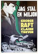 I Stole a Million 1940 poster George Raft