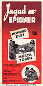 Spy Hunt 1950 poster Howard Duff