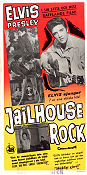 Jailhouse Rock 1957 poster Elvis Presley Richard Thorpe