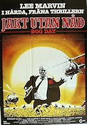 Dog Day 1984 Movie poster Lee Marvin