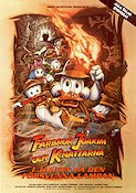 DuckTales the Movie 1990 Movie poster Farbror Joakim