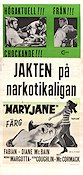 Maryjane 1969 Movie poster Fabian