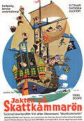 Jakten p� skattkammar�n 1972 Movie poster