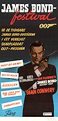 James Bond-festival 1974 Movie poster Sean Connery