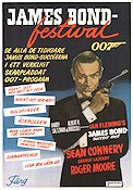 James Bond-festival 1976 Movie poster Sean Connery