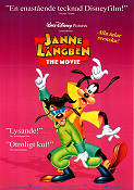 A Goofy Movie 1994 poster Långben