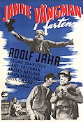 Janne V�ngman i farten 1952 Movie poster Adolf Jahr