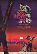 Giant 1957 poster James Dean