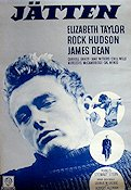 Giant 1957 Movie poster James Dean