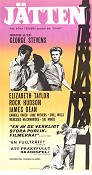 Giant 1957 poster James Dean George Stevens