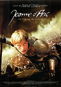 Jeanne d´Arc 1999 poster Milla Jovovich Luc Besson