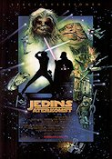 Return of the Jedi 1983 poster Mark Hamill George Lucas