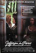 Jefferson in Paris 1994 Movie poster Nick Nolte