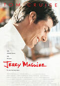 Jerry Maguire 1996 Movie poster Tom Cruise Cameron Crowe