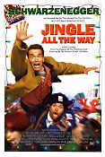 Jingle All the Way 1996 poster Arnold Schwarzenegger Brian Levant