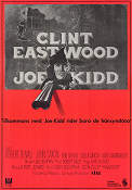Joe Kidd 1972 Movie poster Clint Eastwood John Sturges
