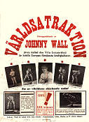 Johnny Wall Vita Leoparden 1939 poster Johnny Wall