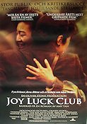 The Joy Luck Club 1994 Movie poster Wayne Wang Oliver Stone