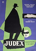 Judex 1965 Movie poster Channing Pollock