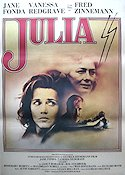 Julia 1976 Movie poster Jane Fonda