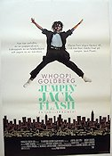 Jumpin´ Jack Flash 1986 poster Whoopi Goldberg