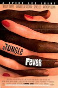 Jungle Fever 1991 Movie poster Wesley Snipes Spike Lee