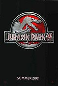 Jurassic Park 3 2001 Movie poster Sam Neill