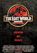 Jurassic Park The Lost World 1996 Movie poster Jeff Goldblum Steven Spielberg