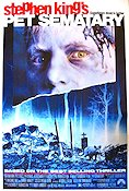 Pet Sematary 1989 Movie poster
