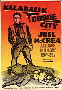 The Gunfight at Dodge City 1959 poster Joel McCrea Joseph M Newman