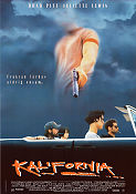 Kalifornia 1993 Movie poster Brad Pitt