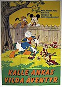 Donald Duck's Fun Festival 1985 Movie poster Kalle Anka