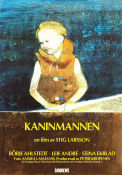 Kaninmannen 1992 Movie poster B�rje Ahlstedt Stig Larsson