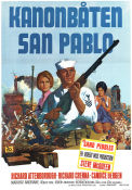 The Sand Pebbles 1966 poster Steve McQueen Robert Wise