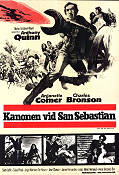Guns For San Sebastian 1967 Movie poster Anthony Quinn Henri Verneuil