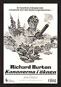 Raid on Rommel 1971 poster Richard Burton
