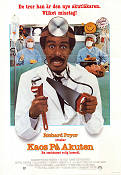 Critical Condition 1986 Movie poster Richard Pryor
