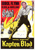 Captain Blood 1935 poster Errol Flynn Michael Curtiz