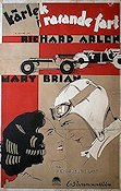 Burning Up 1930 Movie poster Richard Arlen