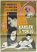 A Girl Named Tamiko 1963 Movie poster Laurence Harvey John Sturges